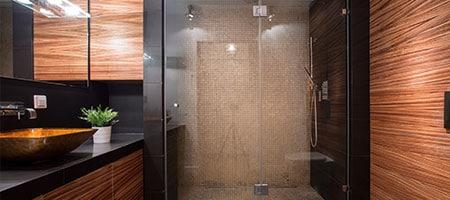 douchewand plaatsen