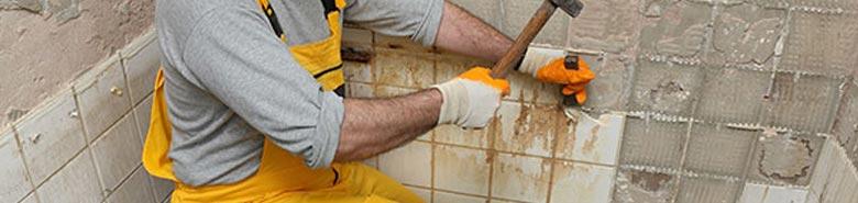 Badkamertegels verwijderen en vervangen door nieuwe tegels